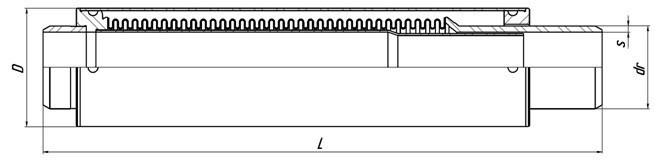 Компенсатор для стояков отопления