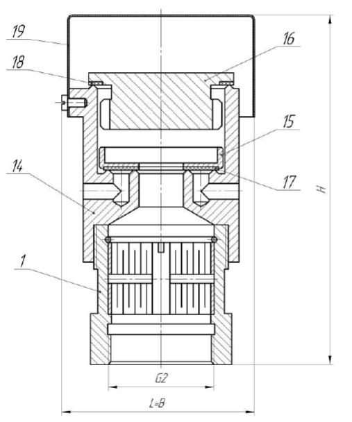 Клапан КДМа-50-1