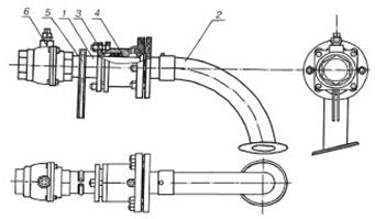 Конструкция кран сифонный КС